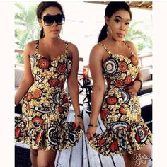 The complete pictures of latest ankara short gown styles of 2018 you've been searching for. These short ankara gown styles of 2018 are beautiful Ankara Short Gown Dresses, Short African Dresses, Ankara Short Gown Styles, Short Gowns, African Print Dresses, African Prints, Dress Styles, African Fashion Ankara, Latest African Fashion Dresses