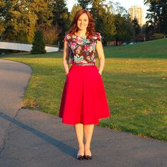 Sewaholic Patterns - Hollyburn Skirt, $15.98 (http://www.sewaholicpatterns.com/hollyburn-skirt/)