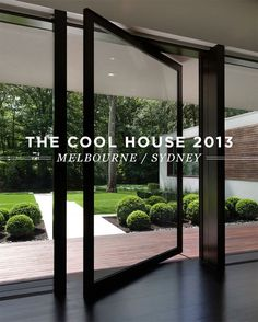 The Cool House 2013 - Melbourne/Sydney - buxus balls