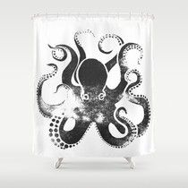 Best Black and White Octopus Shower Curtain Reviews