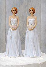 Lesbian Gay Wedding Cake Topper