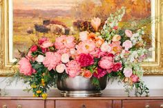 Gorgeous rambling flowers from Ashley Beyer