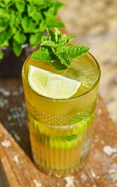 Virgin Mojito, Quesadilla, Summer Drinks, Bagel, Cantaloupe, Smoothie, Hamburger, Grilling, Fruit