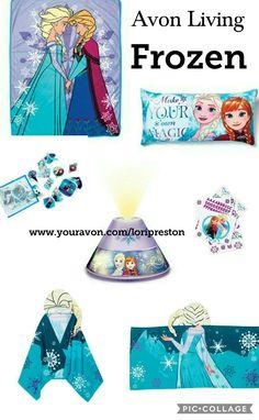 Avon Living Frozen bedroom decor for kids