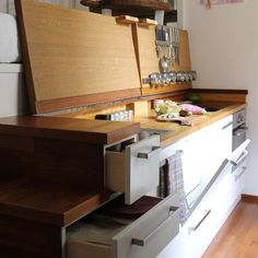 15 More Small Cool Kitchens