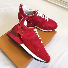 Louis Vuitton lv woman sneakers sport trainers Sports Trainers, Louis Vuitton Shoes, Puma Fierce, Balenciaga, High Tops, High Top Sneakers, Woman, Fashion, Moda
