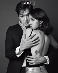 Yoo Ji-tae & Lee Jung-hyun // Vogue Korea