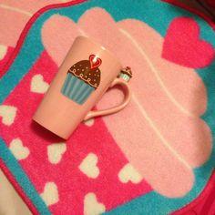 Target Cupcake mug and rugs