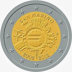 2 Euro Commemorative Coins - Information about recent and near future Eurozone Commemorative 2 euro coins.