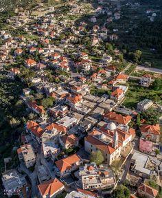 Brick Village  . . . #douma #northlebanon #lebanon #dji #drones #quadcopter #aerial #aerialphotography #dronestagram #fpv #droneoftheday… Places To Visit, Aerial, City Photo, Paris Skyline, Village Photography, Phoenicia, Aerial Photography, Skyline, Village