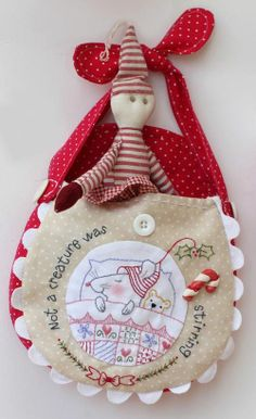 Red Brolly Christmas bags