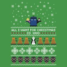 The 9th Doctor and Rose Christmas Sweater + Card by rydiachacha