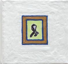 Oil, Acrylic, Resin on Canvas5 x 5 x 1.5 inches2013John Zoller