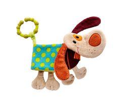 Lilliputiens Jef Hund Babyspielbuch Buggybuch Babyspielzeug