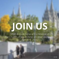 Throughout history, God has chosen prophets to teach the gospel and direct His work on earth. It is no different today. http://lds.org/prophets-and-apostles I invite you to tune in to general conference http://facebook.com/223271487682878 tomorrow and Easter Sunday. http://lds.org/church/events/april-2015-general-conference The beautiful music and inspiring messages always provide an uplifting experience for all who listen! #LDSconf #ShareGoodness #PassItOn‬