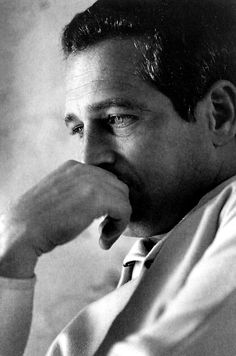 "terrysmalloy: ""He has good character, and not many people do. I think he would rather not do anything wrong, whether on a moral or an artistic level. He is what you call a man of conscious- not necessarily of judgement, but of conscious. I don't know any other actors like that.""-Gore Vidal on Paul Newman"