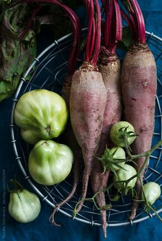Beetroots and Green Tomatoes by Renáta Dobránska | Stocksy United