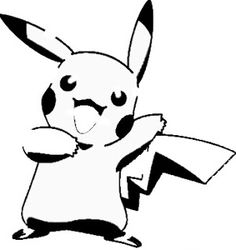 Image uploaded by Dominique. Find images and videos about black and white, pokemon and pikachu on We Heart It - the app to get lost in what you love. Cool Stencils, Stencil Art, Paint Stencils, Pikachu, Pokemon Stencils, Haida Kunst, Pokemon Pumpkin, Pumpkin Carving Templates, Pumpkin Stencil