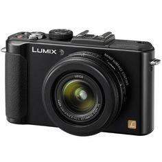 Panasonic LUMIX DMC-LX7 10 Megapixel Digital Camera - Black $398.00
