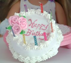 Birthday Cake for American Girl von MyGirlClothingCo auf Etsy