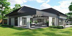 Projekt domu HomeKONCEPT 68 #homekoncept #projektdomu #domnowoczesny #domjednorodzinny #stylhomekoncept #modernhome Beautiful House Plans, Dream House Plans, Beautiful Homes, Home Fashion, Modern House Design, Villa, Exterior, How To Plan, House Styles