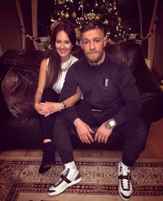 Less than 10 years ago, Conor Mcgregor was homeless. While homeless he met a woman named Dee Devlin. She took him off the streets, moved Conor into her tiny apartment and fed him daily. Conor Mcgregor Wife, Mcgregor Fight, Classy Outfits, Casual Outfits, Men Casual, Conor Mcgegor, Christian Louboutin Shoes Mens, Notorious Mcgregor, Urban Fashion