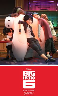 Bring home Disney's Big Hero 6 now on Disney Movies Anywhere and on Blu-ray!