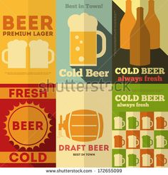 beer poster retro - Google Search