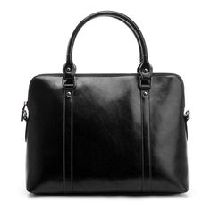 Discount 2014 fashion vintage genuine leather briefcase women leather handbags documents portfolio shoulder messenger laptop bag $48.45 Free Shipping