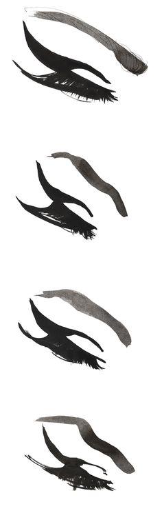 Madame lashes fashion - would love to try this! Best False Eyelashes, Mink Eyelashes, Fake Lashes, Fashion Prints, Fashion Art, Eyelash Salon, Illustration Mode, Quirky Fashion, Illustrator Tutorials