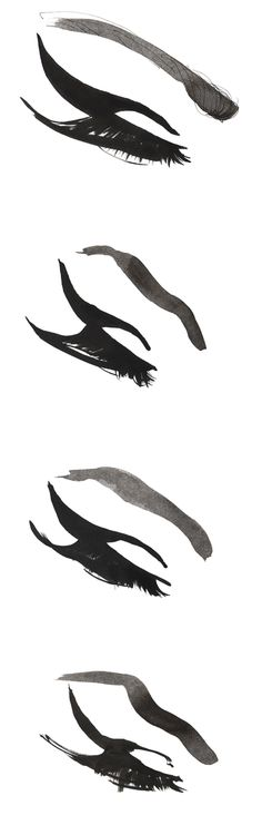 Madame lashes fashion drawing