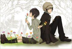 Yoite & Miharu - nabari-no-ou Fan Art