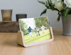 Wooden Photo Frame Shabby Chic Picture Frames Stand by GardenXHK
