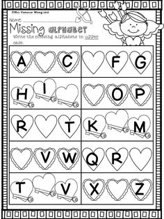 Download free printables at preview. February Math and Literacy pack. Teach kindergarten classroom with engaging worksheets with a lot of sight word, word work, phonics, reading, fluency, writing, number, addition & subtraction, shape activities etc. Perfect for Valentine centers, homework, morning work and home school. #valentineworksheets #februaryactivities #kindergartenactivities #kindergartenworksheets Teaching Kindergarten, Kindergarten Worksheets, Kindergarten Activities, Teaching Ideas, Abc Worksheets, Phonics Activities, Student Teaching, Teaching Shapes, Valentines Day Activities