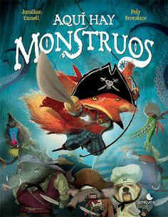 """Dibupoly: """"Aquí hay monstruos"""", nuevo libro con piratas y un juego de regalo!"""