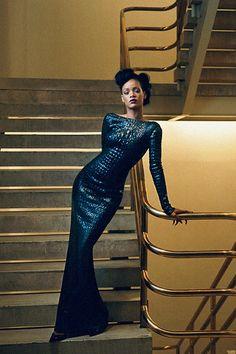 Modern Black Women Dress