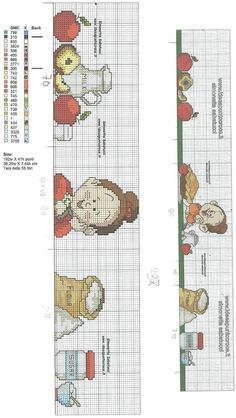 Cross Stitch Kitchen, Cross Stitching, Embroidery Patterns, Tapestry, Towels, Dish Towels, Cross Stitch Embroidery, Home, Cross Stitch Pictures