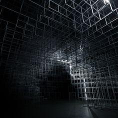United Visual Artists, intervention à la Serpentine Gallery, Londres, Royaume-Unis