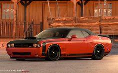 Dodge Challenger SRT - Love this shot!