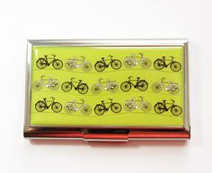 Simple professional bicycle business cards pinterest business bicycle card case business card case cycling card case business card holder colourmoves