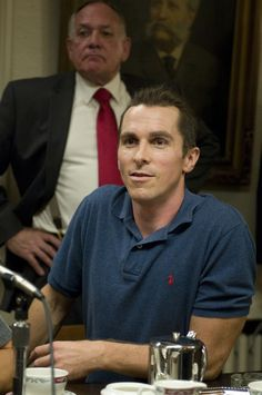"Dicky Eklund (Christian Bale) promoting a fight with his brother, Micky, in ""The Fighter"" (2010)."
