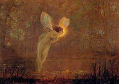 John Atkinson Grimshaw 'Iris' 1886