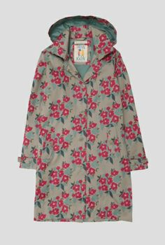 Beautiful & Practical Clothing For Women - Seasalt Cornwall Outdoor Coats, Rainy Day Fashion, I Love Fashion, Womens Fashion, Mac, Models, Printed Cotton, Stylish Outfits, Print Patterns