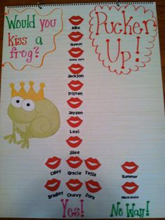 LOL!  I will have to do this with my students for the Frog Prince!  It is too cute!