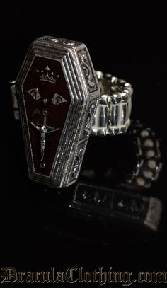 Red Coffin Ring