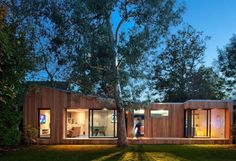 Modular homes got stylish and cheap! Thumbs up!