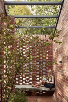 Brick Architecture, Garden Architecture, Sustainable Architecture, Residential Architecture, Interior Architecture, Pavilion Architecture, Japanese Architecture, Interior Modern, Contemporary Architecture