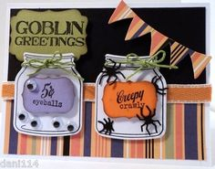 Witch's Halloween Potion Card Kit Created with Papertrey Stampin Up | eBay