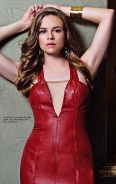 Beautiful Redhead, Beautiful Long Hair, Beautiful Celebrities, Olivia De Havilland, Red Leather Dress, Greek Girl, Danielle Panabaker, Evan Rachel Wood, Celebrity Pictures