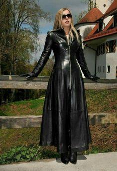bd5687173 Lederlady ❤ Leather Coats, Leather Trench Coat, Leather Gloves, Black  Leather, Leather